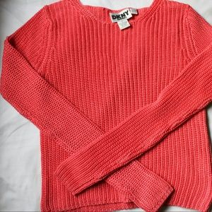 DKNY Sweaters - DKNY Coral Knit Sweater