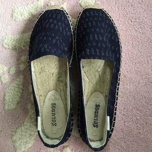 Soludos Shoes - Soludos Navy Blue Espadrilles