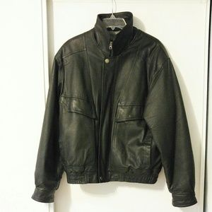 Other - Joshua Ross men's leather jacket size medium
