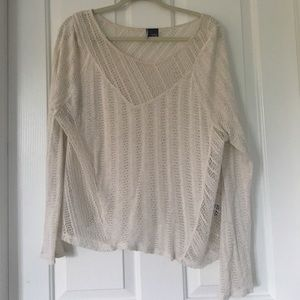 Urban Outfitters Sweaters - URBAN OUTFITTERS lightweight cream sweater - L