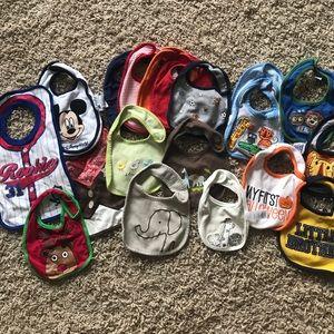Other - Bundle of baby bibs
