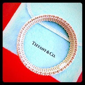Tiffany & Co. Somerset* Sterling narrow bangle