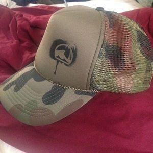 Women's Camo trucker hat