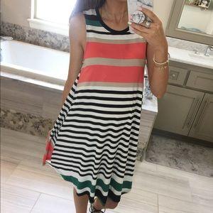 Dresses & Skirts - Stripe T-Shirt Dress