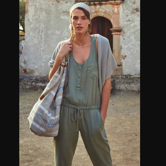 424eace18fb Anthropologie Pants - Cloth and Stone jumpsuit