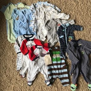 Other - Newborn footie one-piece outfits