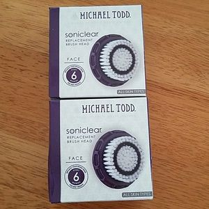 Michael Todd Other - NIB Michael Todd Soniclear Replacement Brush Heads