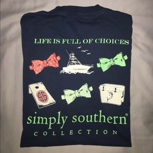 Simply Southern Tops - Pre-Loved Simply Southern Preppy Collection XL