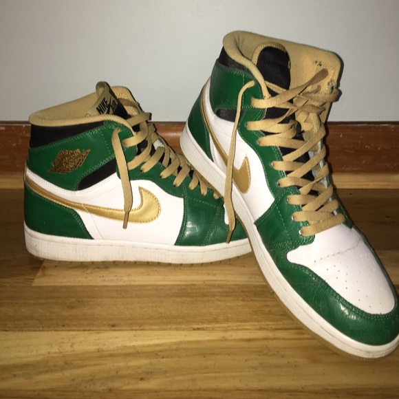 low priced 052c4 0a945 Air Jordan Other - Air Jordan 1 SVSM Clover Sz. 12 Basketball Shoes