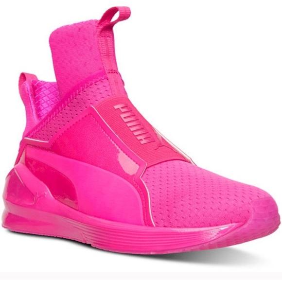 4760a1b4 Hot Pink Puma Fierce Sneakers NWT