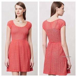 Anthropologie Dresses & Skirts - Anthropologie Weston Wear Pink Chevron Dress