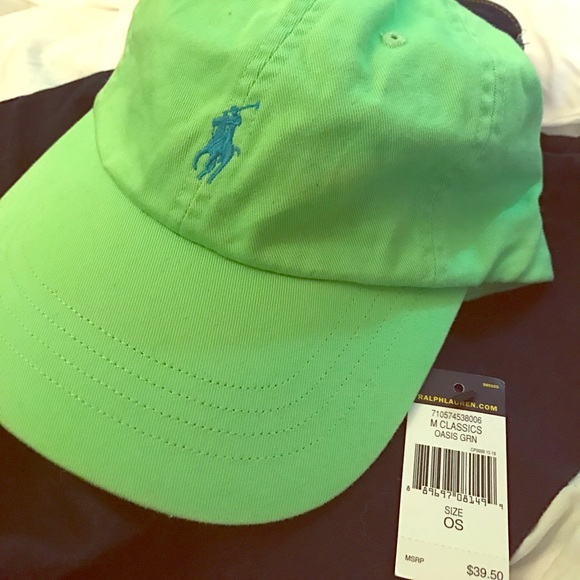 37d4adfa12 🌴🌴🌴🌴Oasis Green Polo Hat 🌴🌴🌴🌴