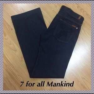 """7 For All Mankind Denim - NWT 7 for all Mankind Dojo - size 32 x 34.75"""""""