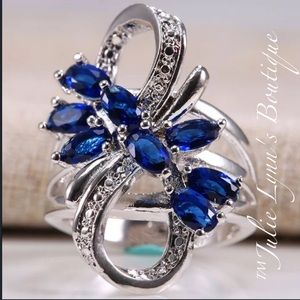 Jewelry - Infinity Sapphire Ring