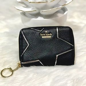 kate spade Handbags - NEW Kate Spade Star Zip around Small Wallet