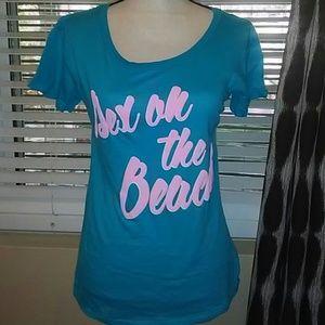 "NWOT Wildfox ""Sex on the Beach"" t-shirt XS"