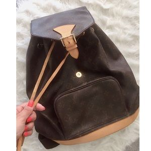 Handbags - Louis Vuitton Monogram Backpack Knockoff