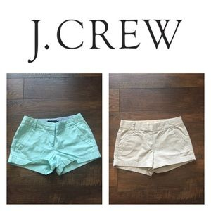 J. Crew Chino Shorts Bundle