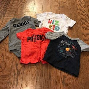 "Other - 4 ""Nerdy"" baby shirts!"