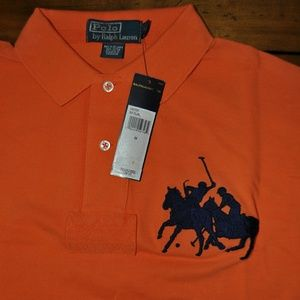 Polo by Ralph Lauren Other - Polo Ralph Lauren mesh SS rugby orange