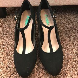 Velvet dancing heels 👯