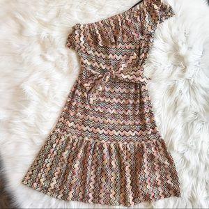 Trina Turk Dresses & Skirts - Trina Turk Crochet One Shoulder Dress