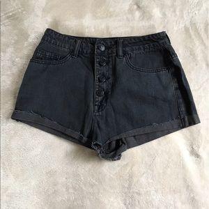 BDG Pants - BDG high rise Black Denim Shorts