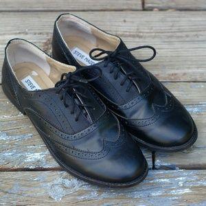 Steve Madden Trina Black Loafers - 8