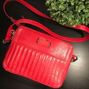 b. makowsky Handbags - ❤️B. Mokowsky Arbella RED Leather Crossbody