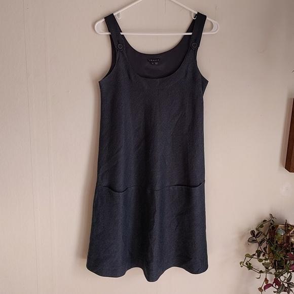 Size 0 black dress shirt