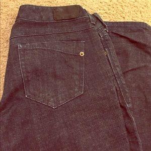 Express Denim - Express Zelda skinny dark blue jeans