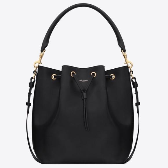 Yves Saint Laurent Handbags - Signature Saint Laurent Bucket Bag