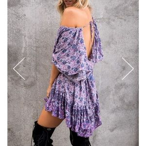 Spell & The Gypsy Collective Dresses & Skirts - Spell and Gypsy Kombi Flutter Dress in Lavenders