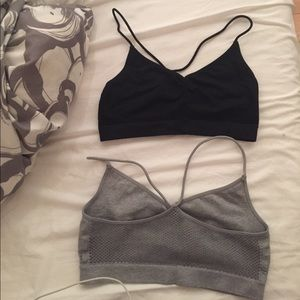 Exhilaration Other - Both Grey and Black Bandeau NWOT