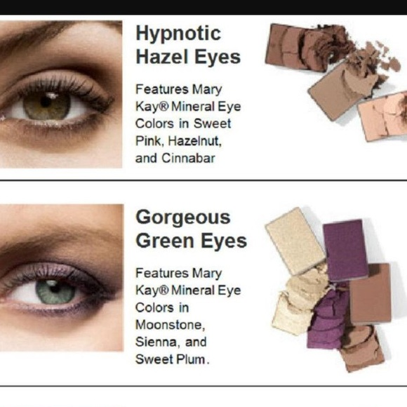 Mary Kay Makeup Mineral Eye Color Bundle Hazel And Green Poshmark