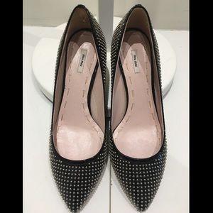 Miu Miu Shoes - Miu Miu Studded Heels.💣😎