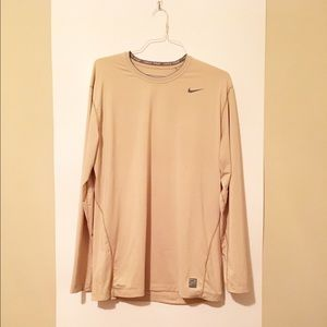 Nike Other - Men's Nike Pro Fitted Long Sleeve