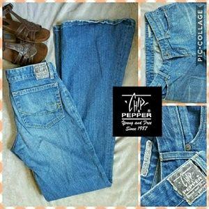 Chip & Pepper Denim - Vintage Chip & Pepper Beat up Road Jar Flare jeans