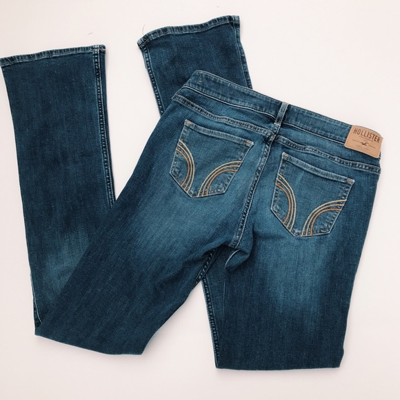 80% off Hollister Denim - SALE🖤Hollister Boot Cut Dark ...