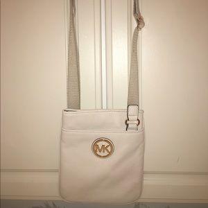 Michael Kors soft leather cross body bag