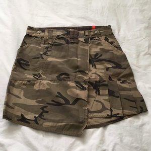 military antro skirt