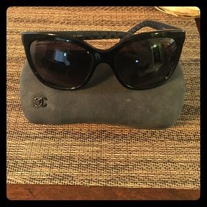 Chanel butterfly polarized sunglasses 
