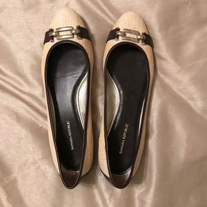 Banana Republic flats. Size 8