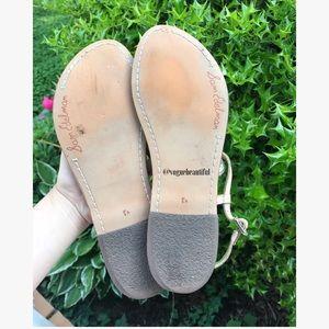 5fcb95ae322cc4 Sam Edelman Shoes - Sam Edelman Gigi Glitter-Crusted Sandals