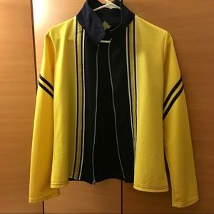 Rave Jackets & Blazers - *Rave* Yellow/Black Stripe Slim Fit Sport Jacket