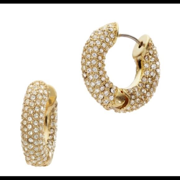 558035a6b8803d Michael Kors Huggie Pave earrings. M_599ecc2fbcd4a72fe400330f. Other Jewelry  you may like. Gold Motif Bar ...