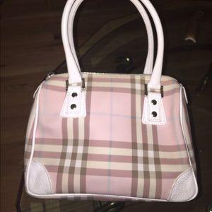 ace7efa7792a Burberry Bags - Burberry Pink Candy Nova Check Mini Boston Bag