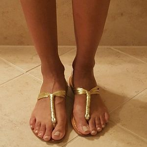 cocobelle  Shoes - Cocobelle Gold Sandal