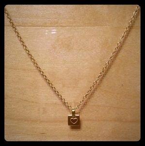 Satya Jewelry Jewelry - Satya 24k shine Gold Heart charm & necklace