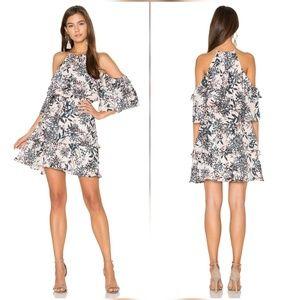 Parker Dresses & Skirts - Parker Aidrian Cold Shoulder Floral Dress